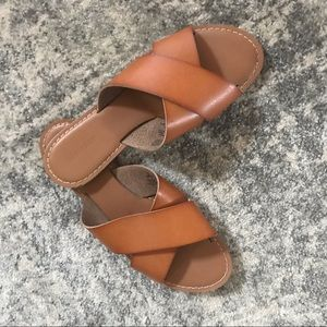 Brown Sandals Old Navy Size 8